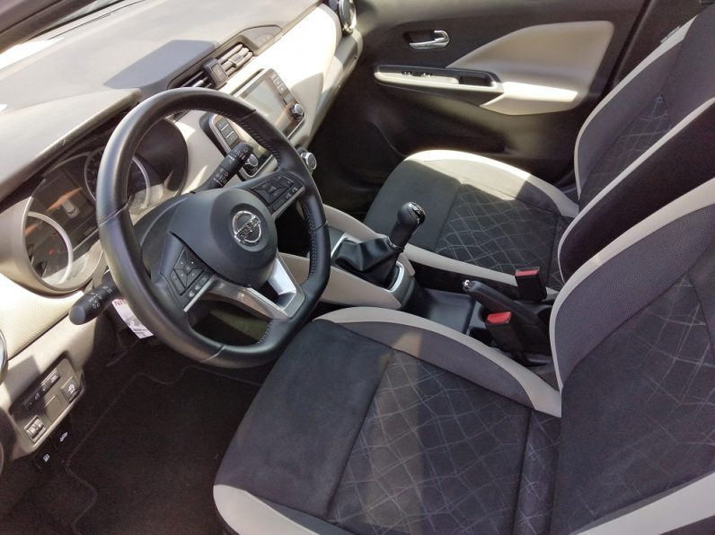 Nissan Micra 1.0 IG-T N-Connecta completo